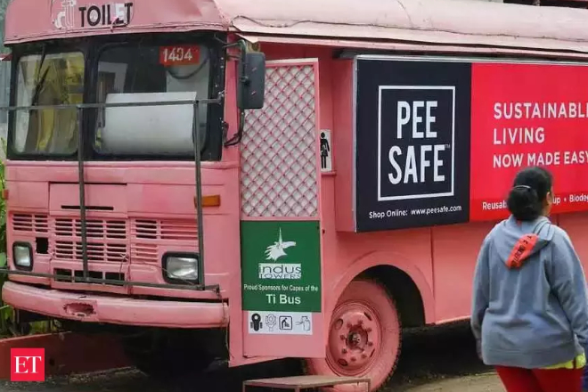 Washroom-on-wheels: How a Pune firm is turning buses into women's toilets - Featured