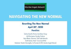 Navigating the New Normal | Mumbai Angels Webinar with Sushma Kaushik - Featured