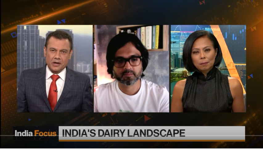 Milk Mantra Interview with Bloomberg Markets Asia - Featured